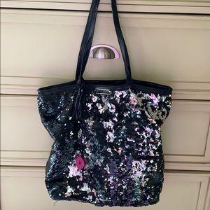 Betsey Johnson | sequin oversized bag RARE*